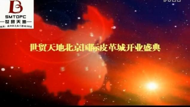 世贸天地北京国际皮革城开业庆典(董事长:谢选魏) (411播放)