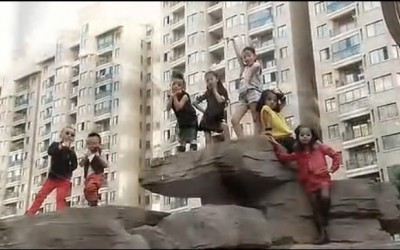 义乌儿童版《江南Style》 (450播放)