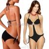 性感沙滩连体泳衣8色 欧码聚胸连体比基尼泳装