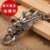 钛钢个性龙头霸气男士项链 不锈钢吊坠