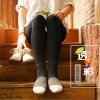 秋冬新款透彩加绒加厚一体打底踩脚i裤 爆款女锦纶高密保暖裤