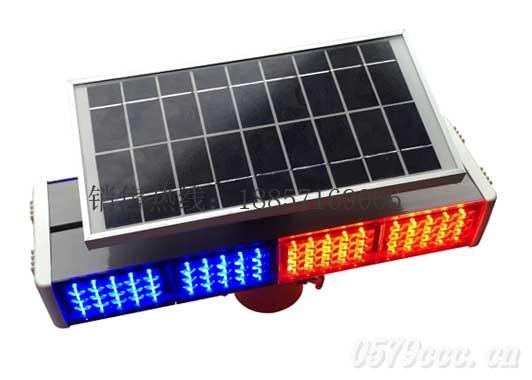 实惠款太阳能双面爆闪灯